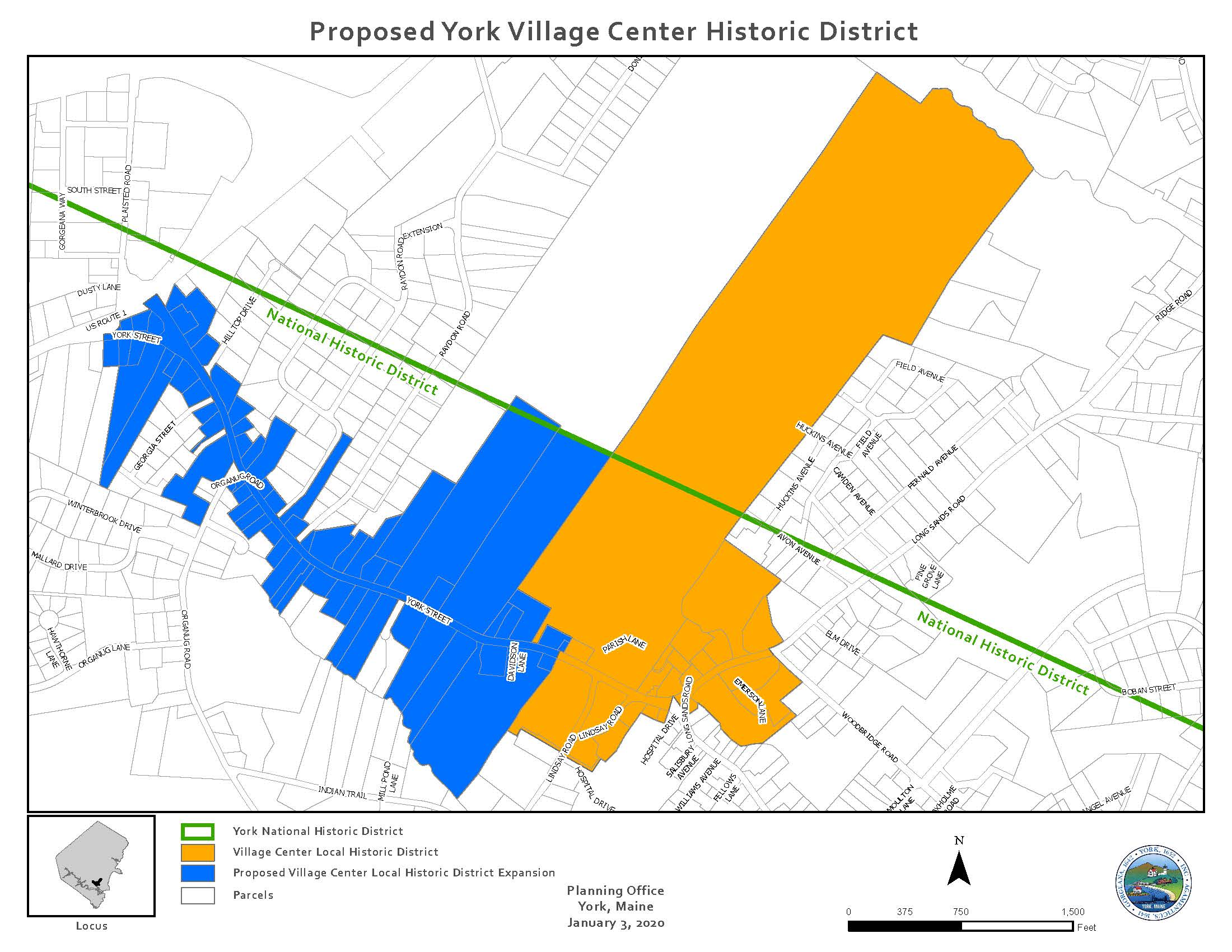 Proposed York Village Center Historic District _2020-1-3